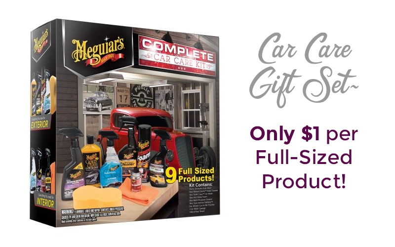 Meguiar's Car Care Gift Kit ONLY $9~ Only $1/product!