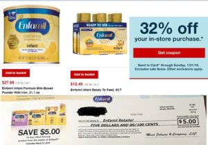 picture about Enfamil Printable Coupons $10 named Work Mommies!!!! Enfamil Formulation at CVS $7.53 !!!! How in direction of