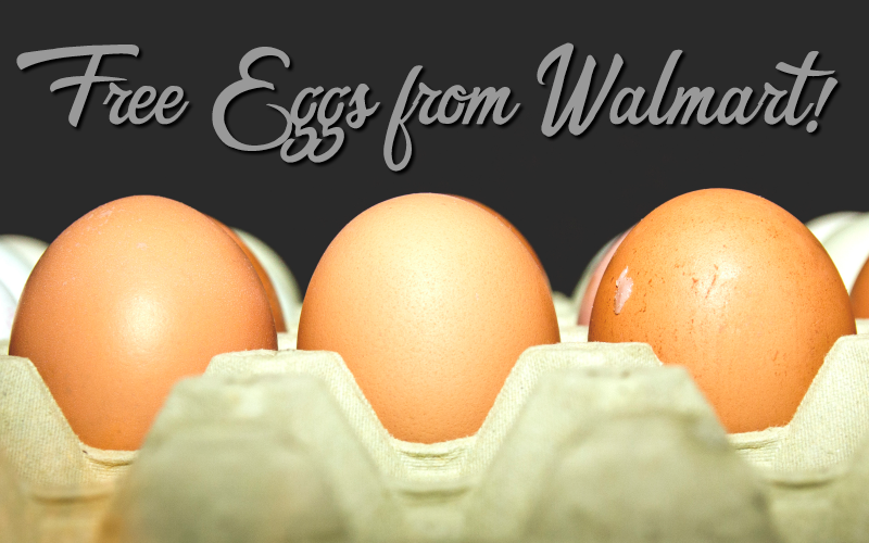 FREE EGGS at Walmart (Up to $2.50 Value!!)
