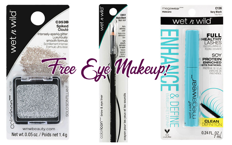 FREE Wet n Wild Makeup!!! (Shadow, Liner, Mascara)