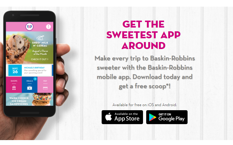 Scream for FREE Ice Cream at Baskin Robbins!!!