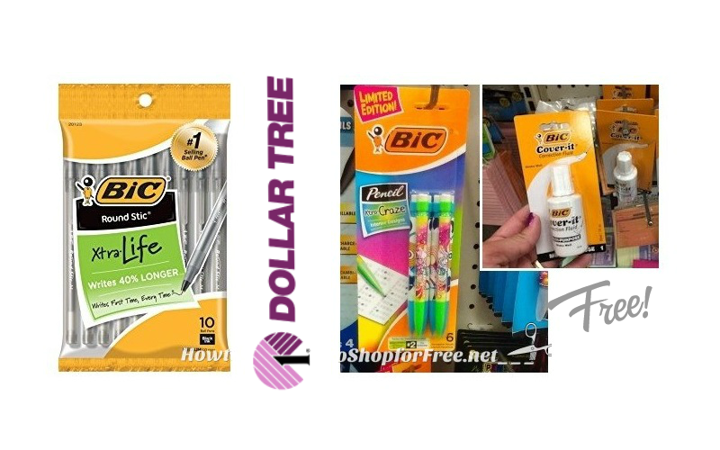 BiC Pens, Pencils & Cover-It ONLY 25¢ EACH!!