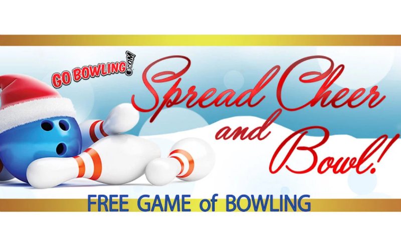 FREE Game of Bowling, through Jan. 31st!