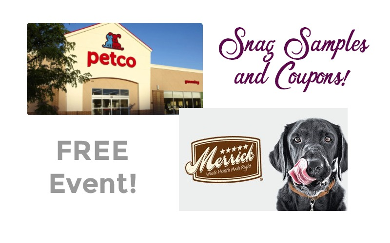 FREE Petco Event Starts at Noon = Samples & Coupons!