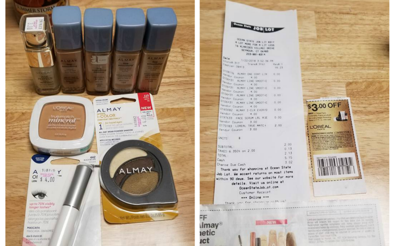 Jennifer's FREE Makeup Haul~ These Deals are Easy!