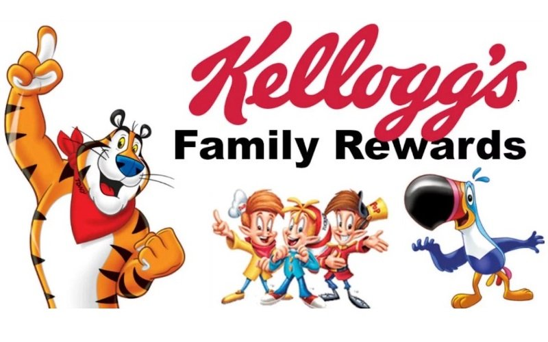 100 FREE Kellogg's Family Rewards Points! (NEW Code)
