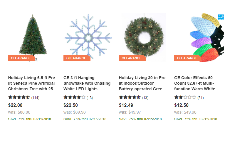 85 off lowes christmas clearance price drop - Lowes Christmas Clearance
