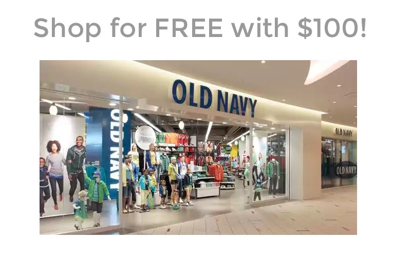 Want $100 in FREE STUFF from Old Navy?!