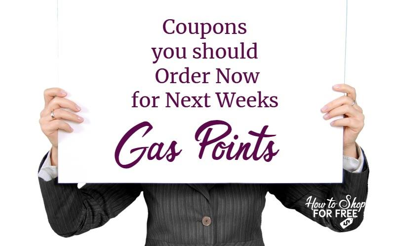 Coupons You Should Order NOW for Next Week's Gas Point Deals at Stop & Shop!