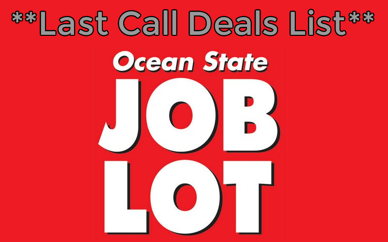 LAST CALL for these Job Lot Deals! (1/17, Last Day)