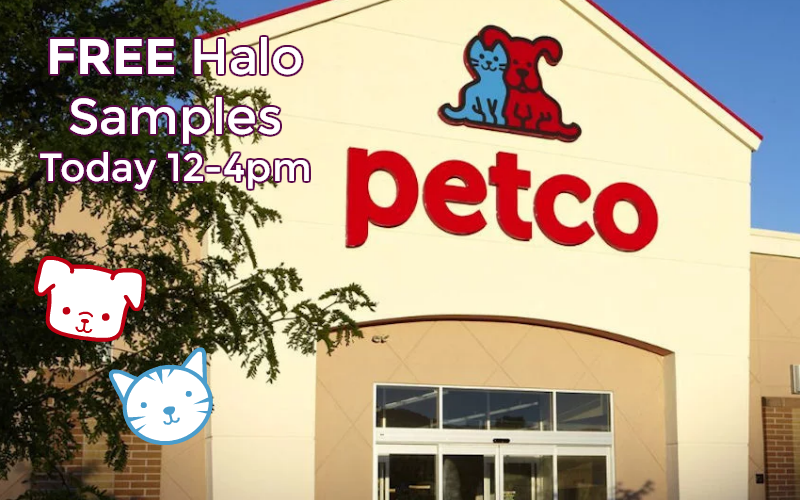 FREE Halo Samples & Coupons at Petco Today! (12-4pm)