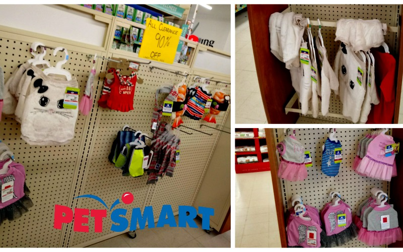 90% OFF Pet Clothing at PetSmart!!!