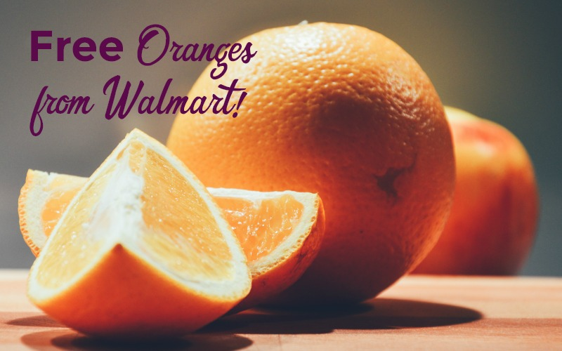 FREE Oranges at Walmart!!! (Up to $2 Value)