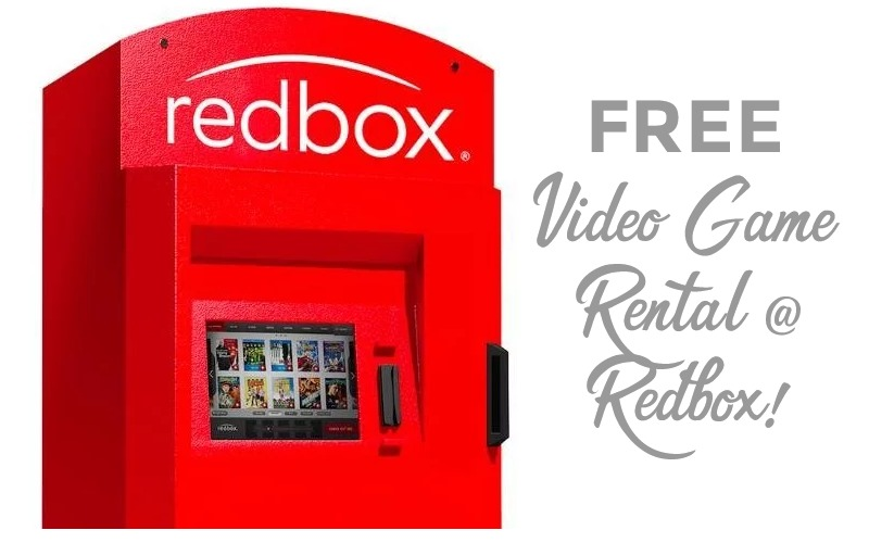 FREE Video Game Rental with Redbox!