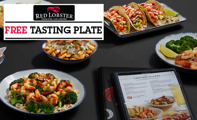 FREE Red Lobster Tasting Plate ($11.99 Value!) w/Coupon!