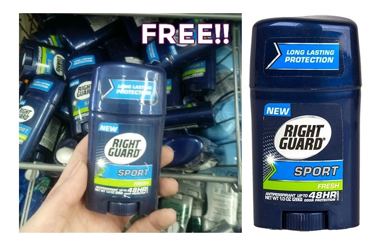 Stock Up on FREE Right Guard Deodorant!