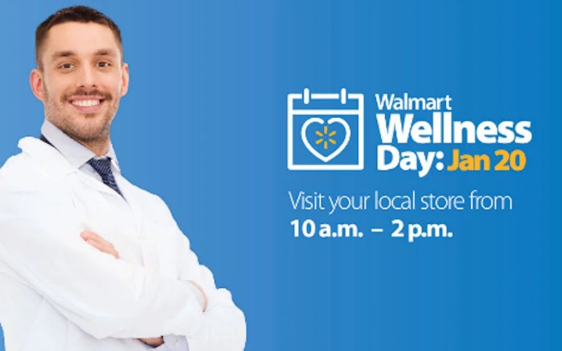 Walmart Wellness Day~ FREE Samples, Health Screenings & More