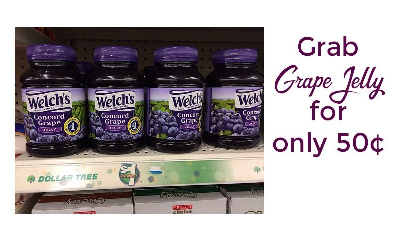 Welch's Jelly only 50 cents at Dollar Tree!!!! (Coupons in Stock!)