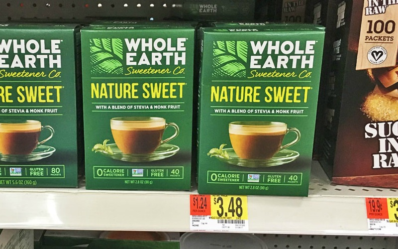 MONEYMAKER Whole Earth Nature Sweet at Walmart!!