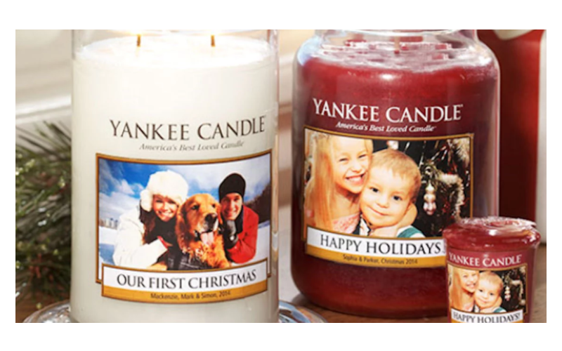 Free Custom Photo Label at Yankee Candle! ($5 Value)