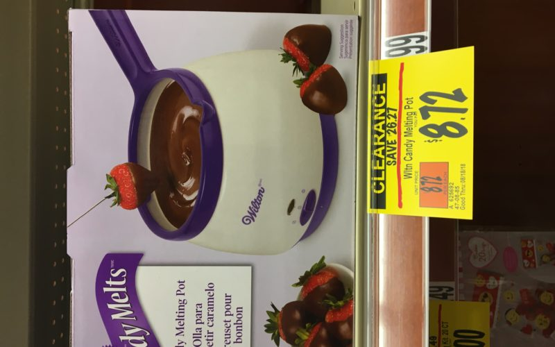 Grab a Wilton's candy melt fondue bowl for 75% off!