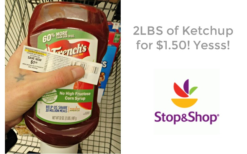 32oz. French's Ketchup ONLY $1.50 at Stop & Shop!!