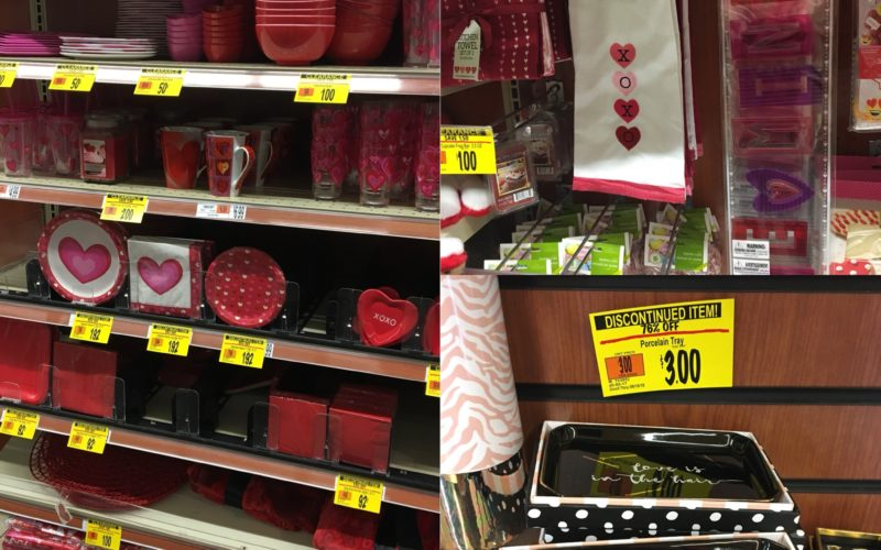 Valentines Day CLEARANCE at Wegmans!