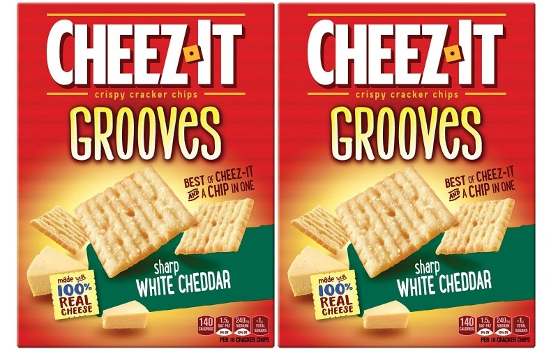 Cheez-it Grooves for .45!! Salty Snack Stack!