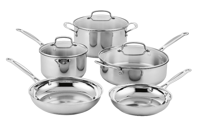 Today Only, 73% OFF CUISINART Classic 8pc. Stainless Set!!