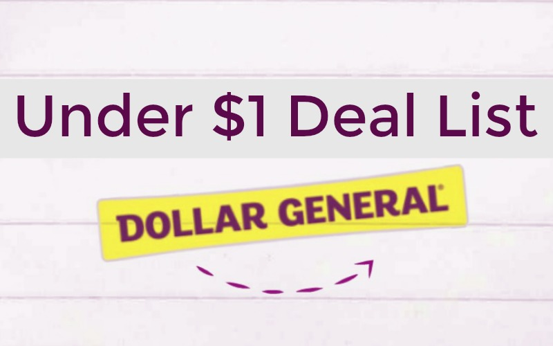 20 Items Under $1 at Dollar General