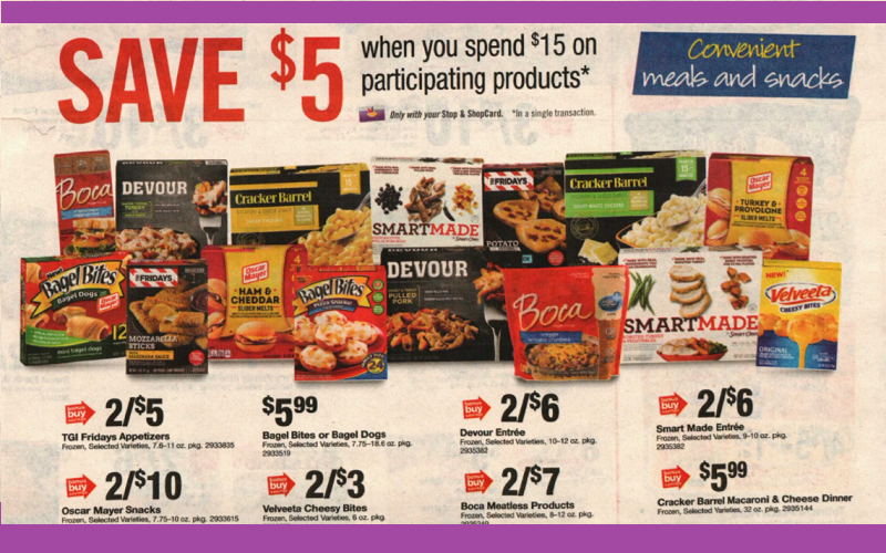 Stock Up Your Freezers For Less at Stop & Shop!