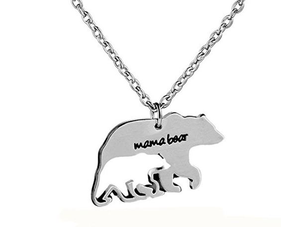 Say What!!  Mama Bear Necklace $1.90    ~Shipped Free