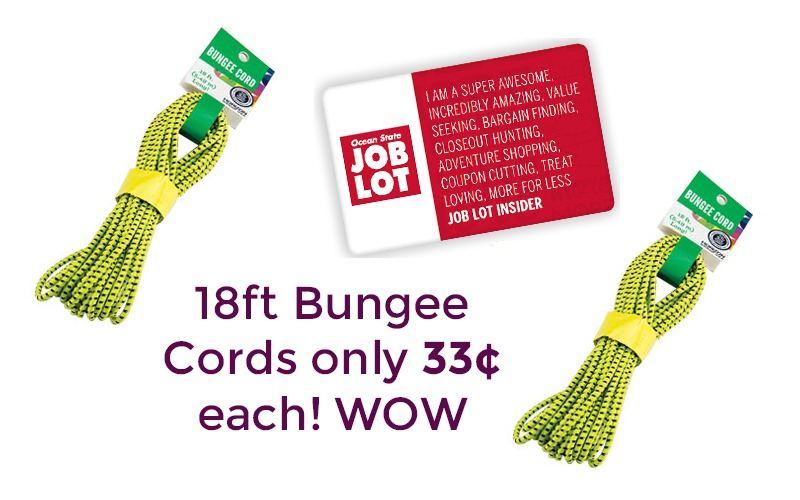 This Deal is Worth JUMPING For~ Bungee Cords 33¢ each!!