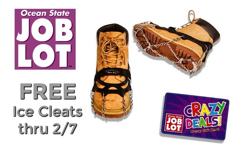 8a711de6089 FREE Heavy Duty Ice Cleats at Job Lot!