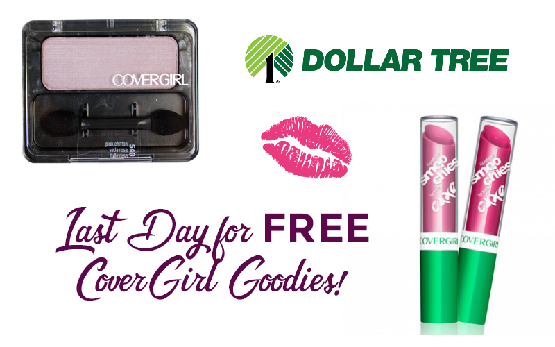 Last Day to Grab FREE CoverGirl Goodies for Eye & Lip!