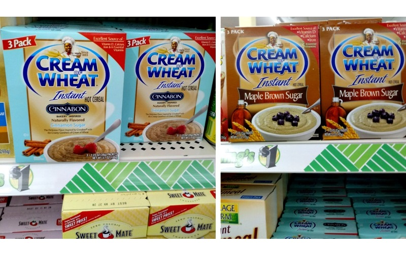 50¢ Cream of Wheat 3pks! (Only .17/serving!!)