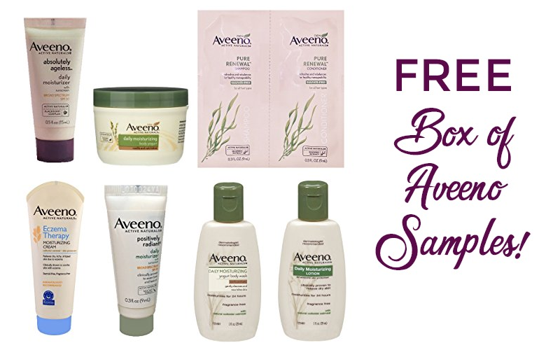 FREE Aveeno Sample Box!! (6+ Samples!)