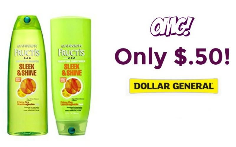 WOW! Garnier Fructis Only $.50 at Dollar General