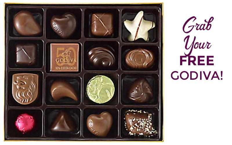 Free GODIVA Chocolate, Today!! (2/11)