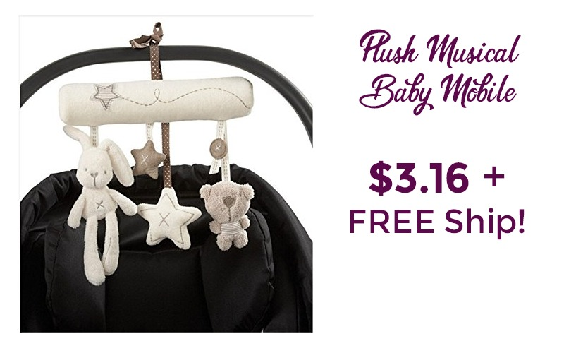 Plush Musical Mobile~ $3.16 + FREE SHIP!!