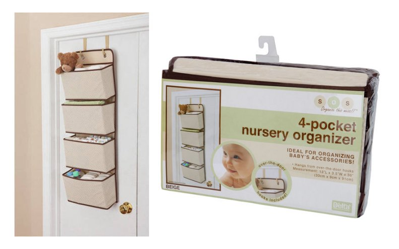 4-Pocket Hanging Wall Organizer ONLY $6! Wow!!