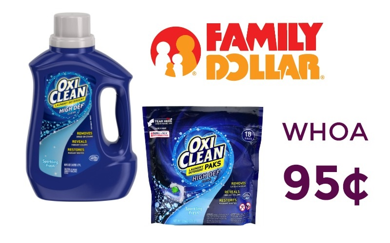 95¢ OxiClean Liquid or Paks ONLY *HOT* (Feb. 19-25)