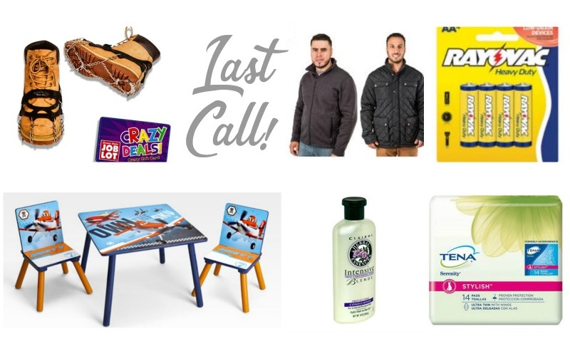 Last Call for the Best Deals at Job Lot! (2/1-2/7)