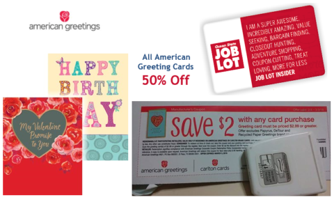 Cards from 99 how to shop for free with kathy spencer american greeting cards as low as 99 thru 214 reg6 m4hsunfo