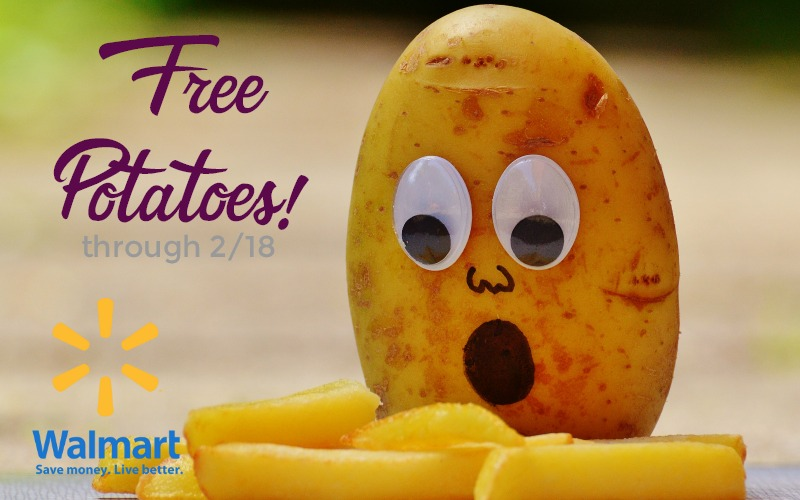 FREE Potatoes at Walmart! ($2.50 Value)