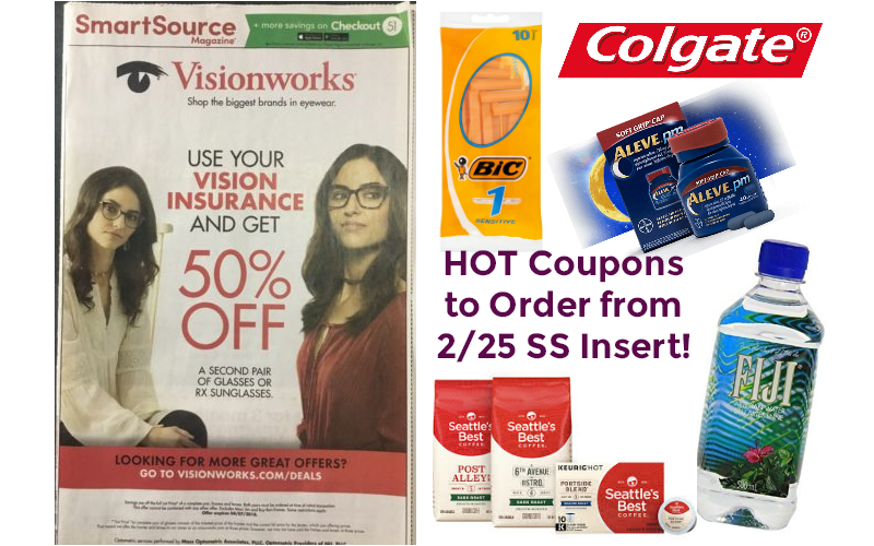 HOT Coupons You Should Order from 2/25 Smart Source!!