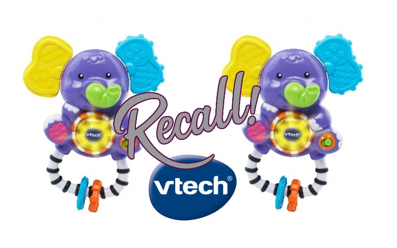 VTech RECALLS Infant Rattles Due to Choking Hazard! Get Your Refund!