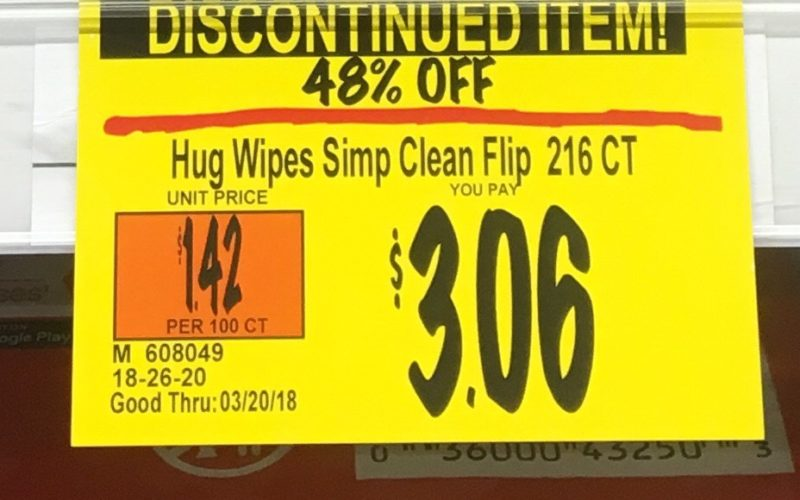 Oh BABY! Only $2.06 for 216 Wipes!!!