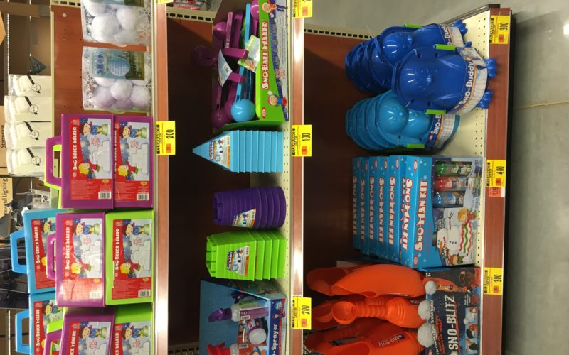 Up to 75% off snow toys before Wednesday's storm!