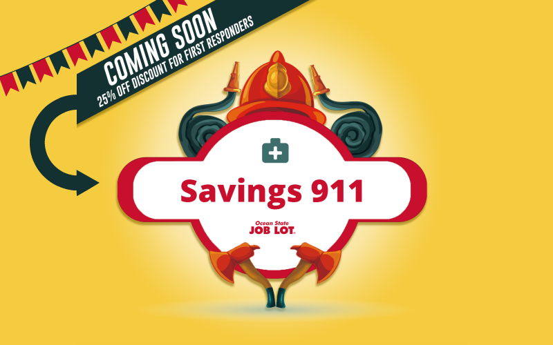 OSJL First Responders Discount~ 25% OFF from 3/22-28